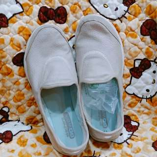 🚚 多人詢問中,以下標為主」SKECHERS健走鞋 US.9.5米灰色 荔枝紋 9號適穿