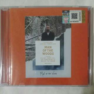 [Music Empire] Justin Timberlake - Man Of The Woods CD Album
