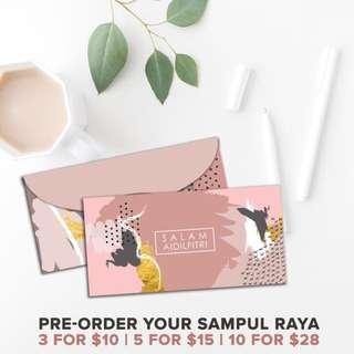Sampul Raya 2018 / Money packets