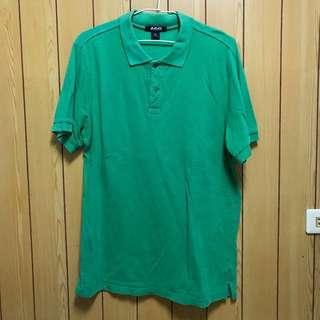 綠色休閒polo衫