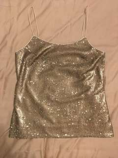 Banana Republic sequins top