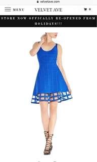Caged Bandage dress