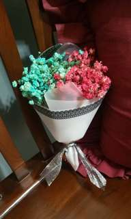 ($11.50) Mini 2-toned baby breath bouquet
