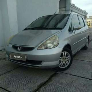 Honda Jazz idsi 1.5 at 2006 silver metalik