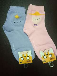 Adventure Time 8 Sock (3 for $10.00)