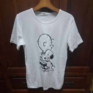 🚚 Snoopy白色短袖