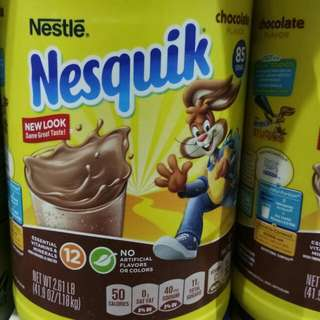 Nesquik chocolate mix 41.9OZ