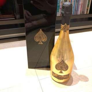 黑桃王牌香檳♠️ 金色系列