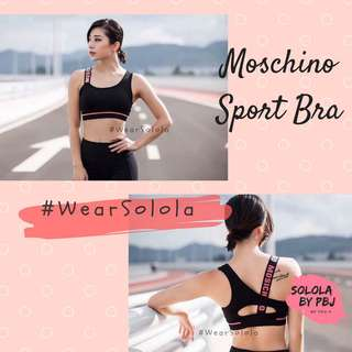 Solola - Moschino Sports Bra