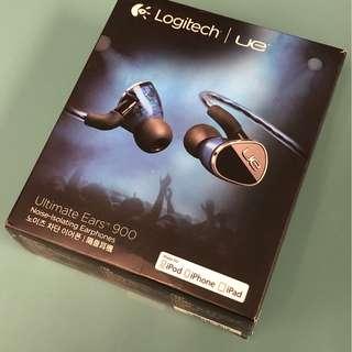 9成新 Ultimate Ears 900 入耳式專業級耳機