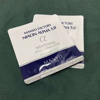 Manyo Factory Niacin Alpha 5.0