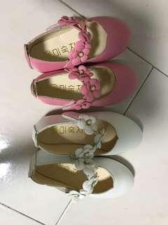 Baby girl princess flower shoe