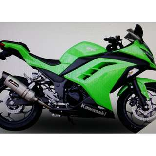 Devil Exhaust Systems Singapore Kawasaki Ninja 300 2013 - 2016 Ready Stock ! Promo ! Do Not PM ! Kindly Call Us !