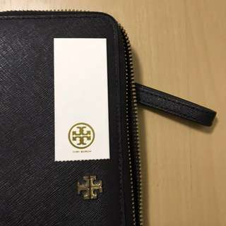 100% Authentic Tory Burch York Passport Continental Wallet