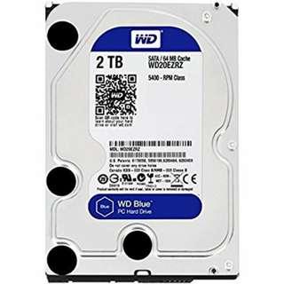 WD Blue 2TB Desktop Hard Disk Drive