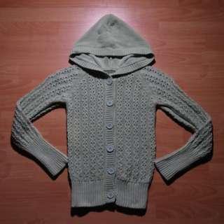 Gap Button Hoodie Knitwear
