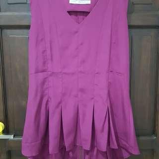 Fuchsia blouse