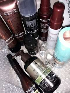 Mixed Box Hair Care Products