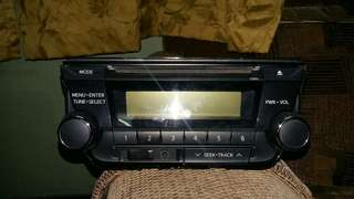 Toyota Vios DVD Player original