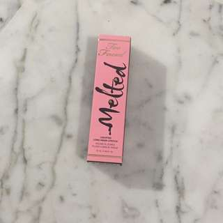 Too Faced Melted Lipstick in Peony BN