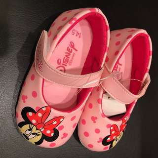 BNWT Disney Minnie Mouse Walker Mary Jane Shoes