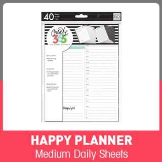Medium Happy Planner™ Daily Planning Refill