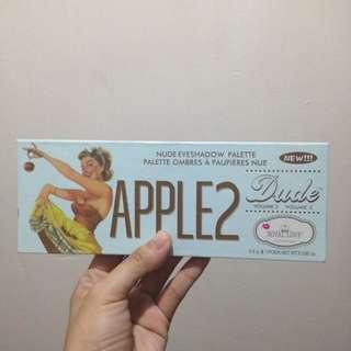 Apple 2 eyeshadow palette