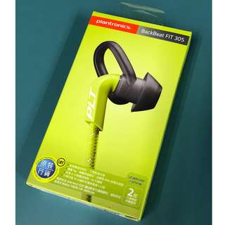 9成新 Plantronics BackBeat FIT 305 Signature Edition 藍牙耳機