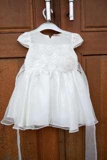 Broken white dress baby