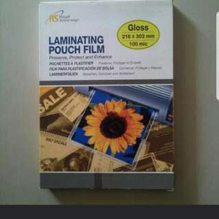 [BN] One box 100 Pieces of Laminating Pouch