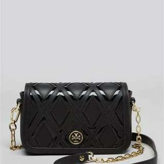 TORY BURCH ROBINSON PATCHWORK CHAIN MINI BAG 女士時尚單肩包