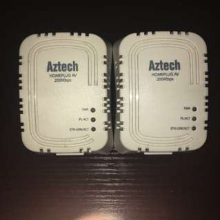 Aztech 200mbps homeplug