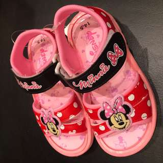 BNWT Disney Minnie Mouse Sandals
