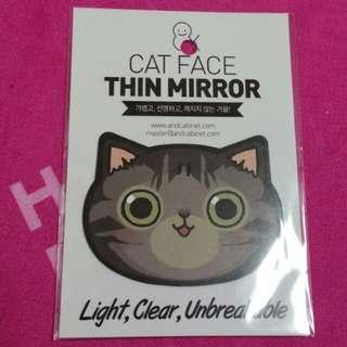 Cat Face Thin Mirror