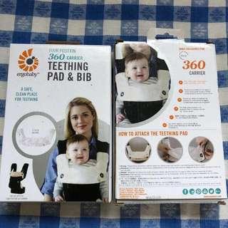 Ergo Baby Carrier ergobaby 360 teething pad&bib