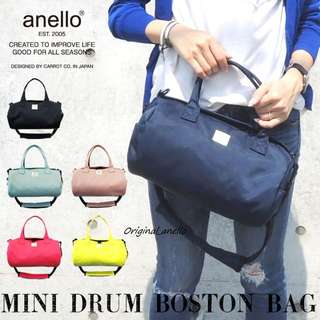 MOVING OUT SALES !  Model :  AT-B2023 Authentic Anello Mini Drum Sling Bag