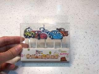 Cars 反斗車王生日蠟燭
