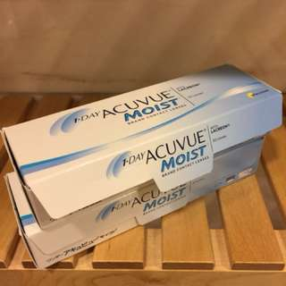 Acuvue Moist 250度 1-day 全新一盒+12對