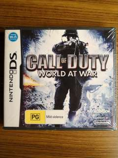 Nintendo DS Call Of Duty: World At War