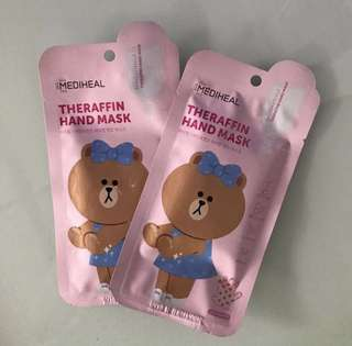 Mediheal Line Friends Theraffin Hand Mask