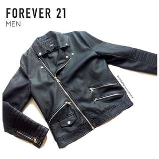 NEW Forever 21 leather jacket