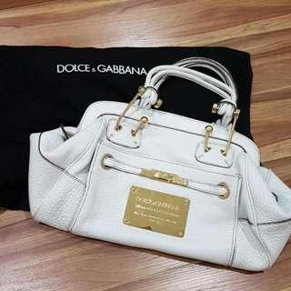 [Accept Swap] D&G Authentic Leather Large Handbag