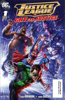 Justice League: Cry For Justice #1-7