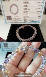 Crystal Bracelet 10mm