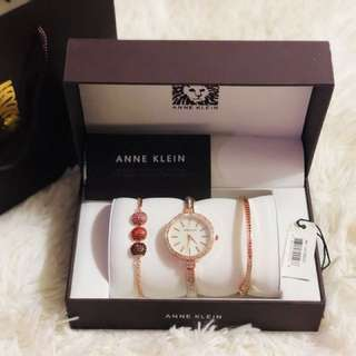 ANNE KLIEN SET WATCH