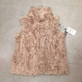 ❤️Zara ❤️shearlings vest (brand new)