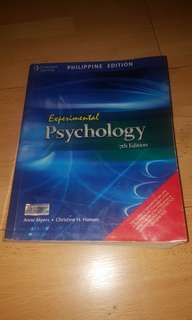 Experimental Psychology 7th Edition