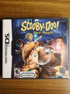 Nintendo DS Scooby-Doo! First Frights