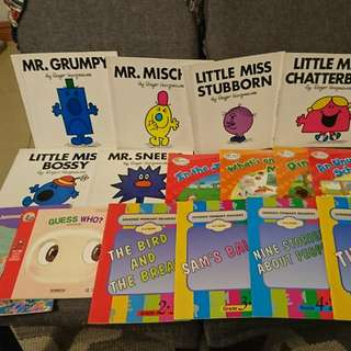 Mr Men and Other Mixed books (16no.)