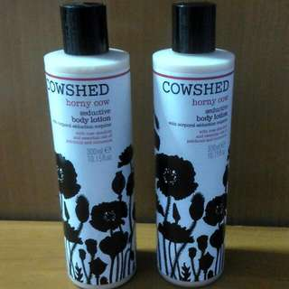 Worth $32 each Cowshed body lotion